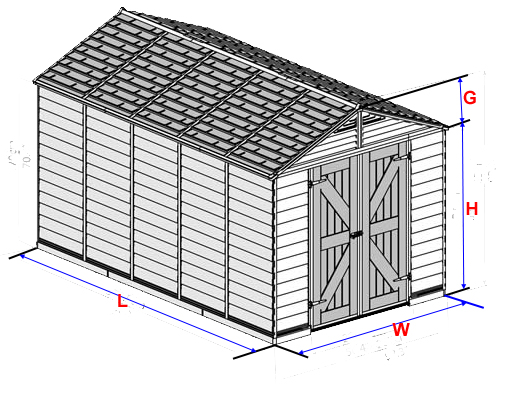 SHEDS and GREENHOUSES