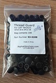 ThreadGuard caps for SP58 anchors (24-pack) Black